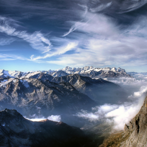 A Day on The Top of Mount Titlis by Evan Pratama Ludirdja
