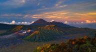 Volcano Down by Karsten Wrobel