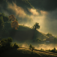 Warm Morning by Marius Grozea