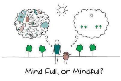 mindful cartoon